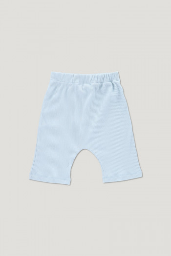 ARCHIE ribbed shorts light blue