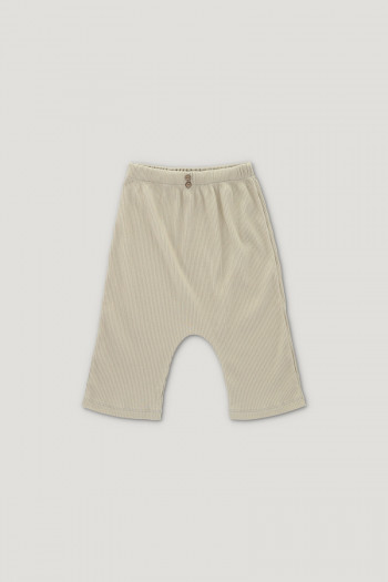 ARCHIE ribbed shorts ginger
