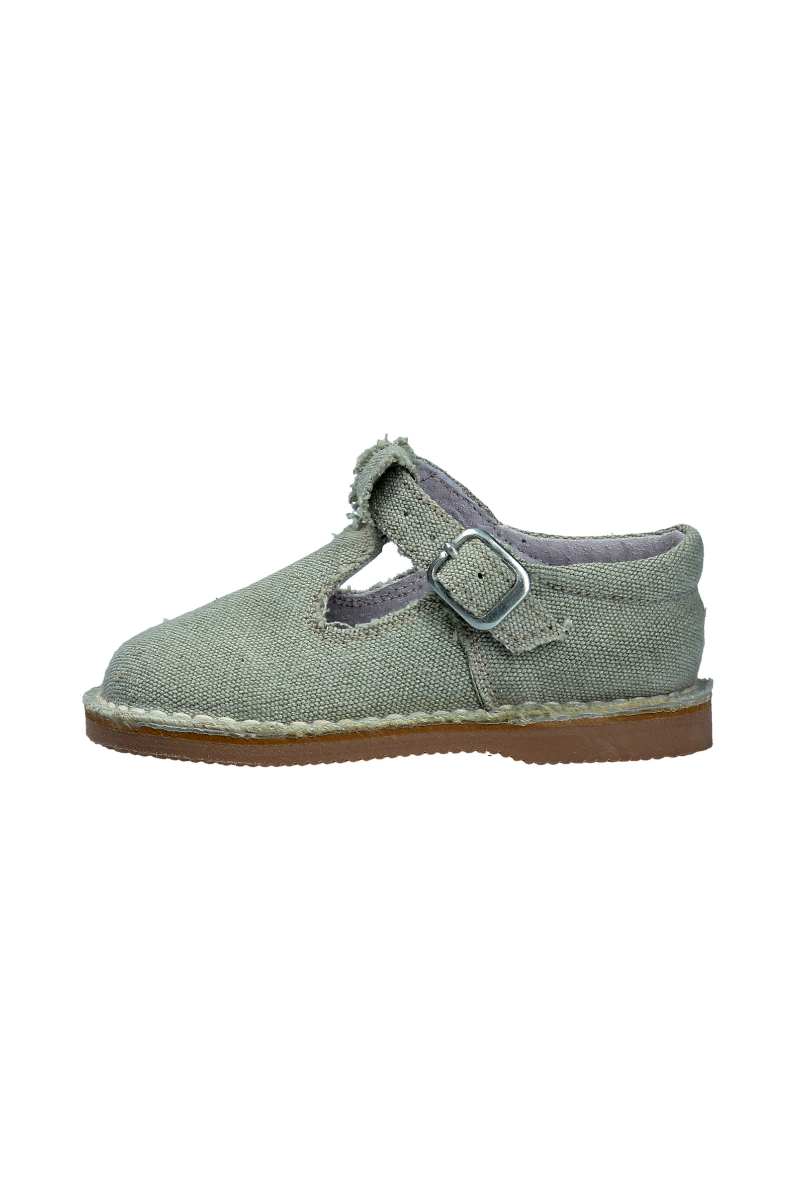 LUANCO SHOES natural light green